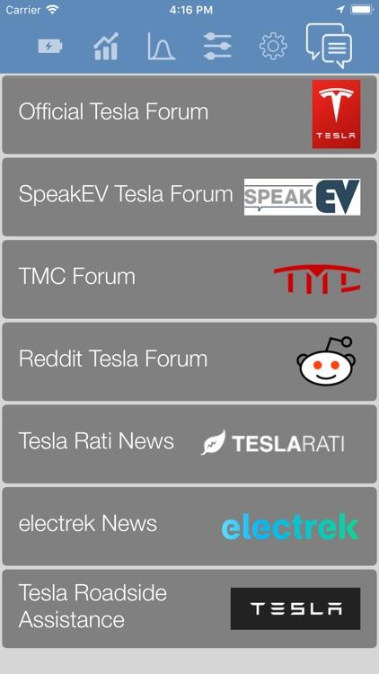 Stats: For Tesla Model S/X/3 screenshot-7