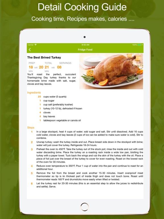 Fridge Food - Easy Cooking screenshot