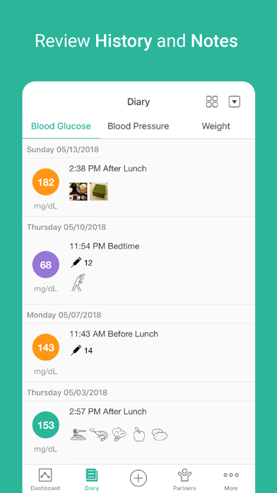 Health2Sync - Diabetes Care & Blood Sugar Tracking screenshot