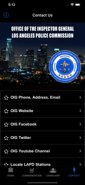 OIG City of Los Angeles on the App Store
