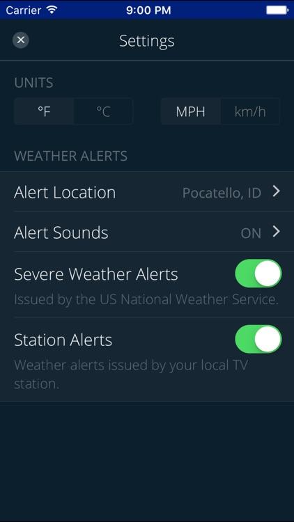 KPVI Storm Tracker Weather screenshot-4
