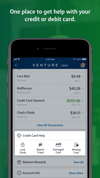 Capital One Mobile Screenshot