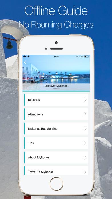 Mykonos, Discover Mykonos screenshot two