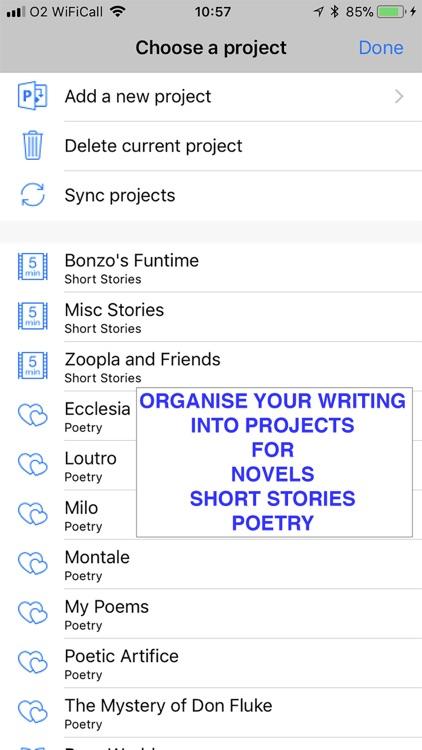 Writing Shed screenshot-0