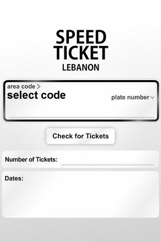 Speed Ticket Lebanon - náhled