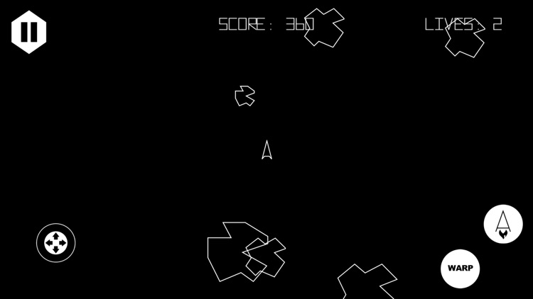 Asteroids 5400 screenshot-2
