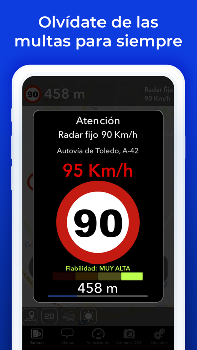 Screenshot for Radarbot: Detector de Radares in Colombia App Store