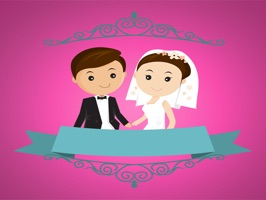 The WeddingSt is a happy sticker, which are show the 50 wedding sticker in cartoon