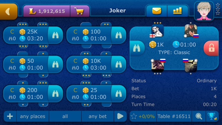 Online Joker LiveGames screenshot-3