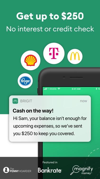 Brigit: $250 Between Paychecks