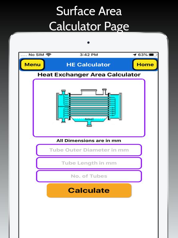 Heat Exchanger Area Pro screenshot 10