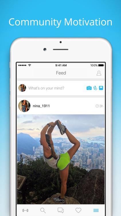 PumpUp Home Workouts & Fitness screenshot-3