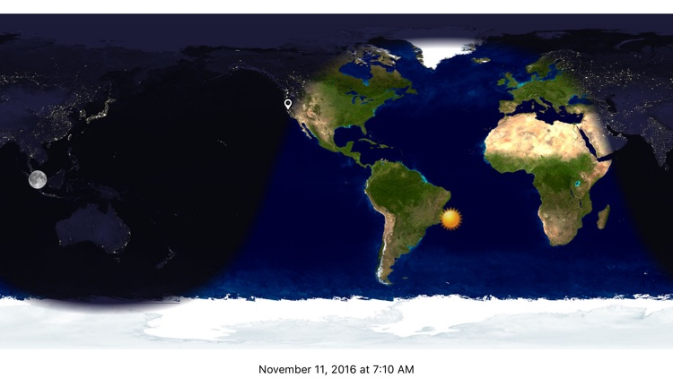 Day & Night Map by Volker Voecking Software Engineering