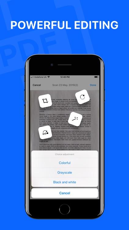 Smart Scanner - Document Scan screenshot-3