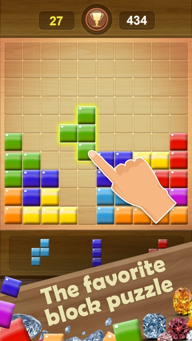 Wooden Block Puzzle Game screenshot 6