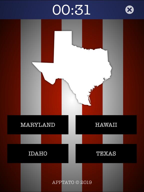 米国の州クイズ(完全版)のおすすめ画像3