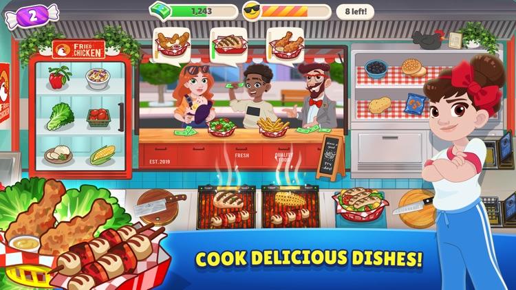 Kitchen Scramble 2: World Cook screenshot-0