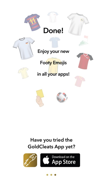 GoldCleats - Soccer Emojis