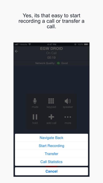 ESI mPhone screenshot-3