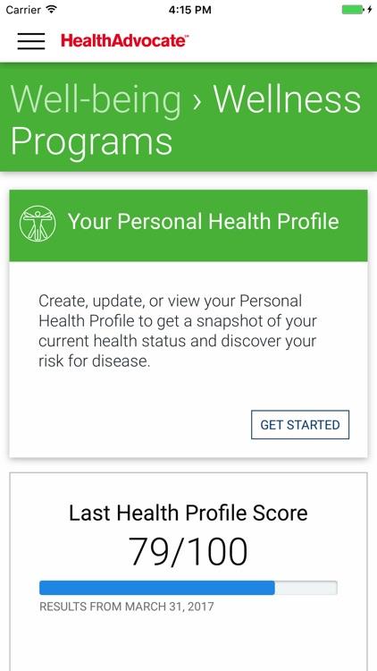 Health Advocate℠ screenshot-3