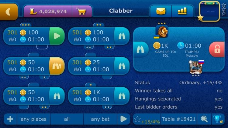 Online Clabber LiveGames screenshot-3