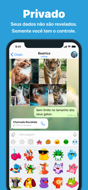 ‎Telegram Messenger Screenshot
