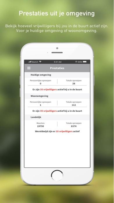 HartslagNu iPhone app afbeelding 5