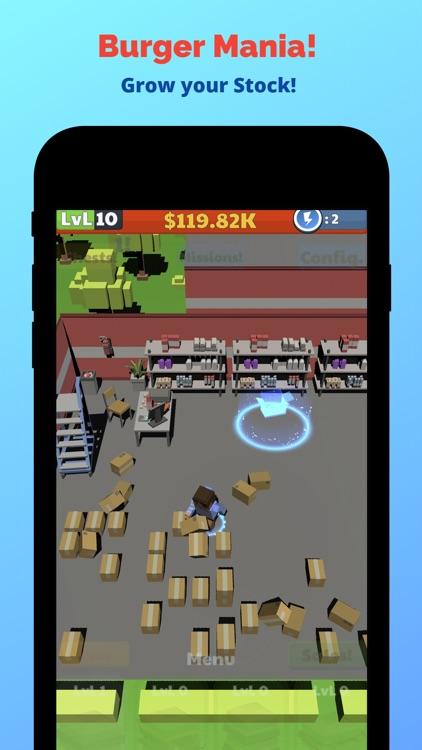Burger Mania! - Idle Tycoon screenshot-5