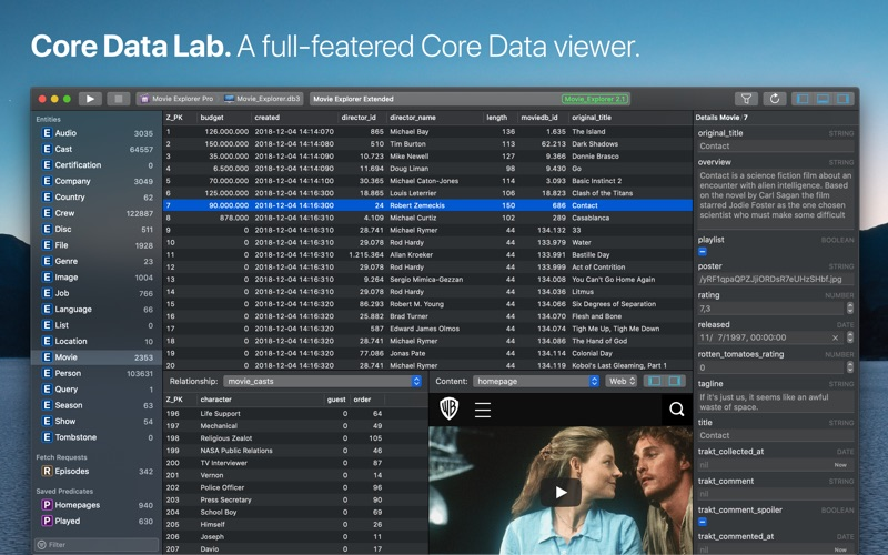Core Data Lab for Mac