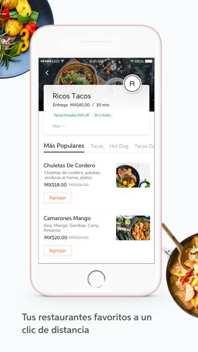Descargar DiDi Food – Comida a Domicilio para PC