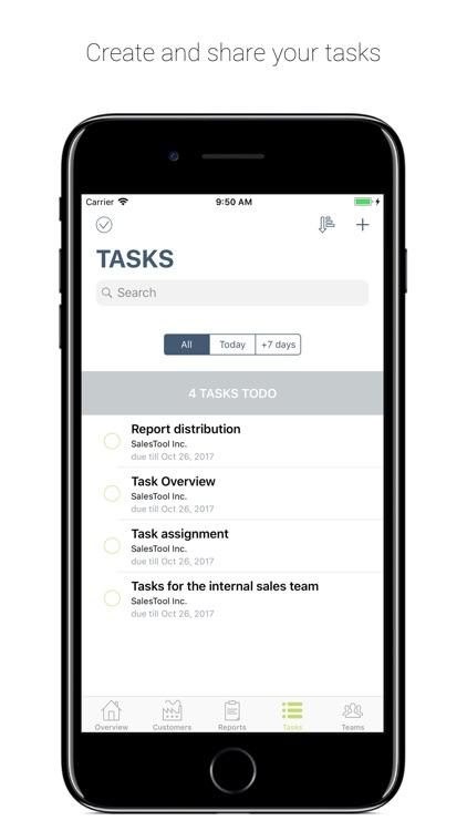 SalesTool report – sales rep screenshot-3