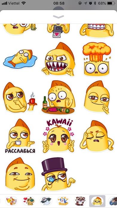Snappy Emoji Funny Stickers screenshot 2
