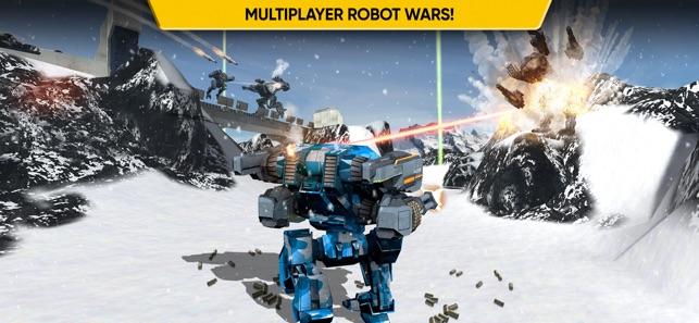 Mech Battle - Robots War Game on the App Store