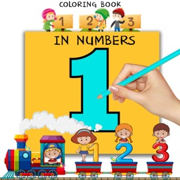 123 Kids Coloring Book Pages