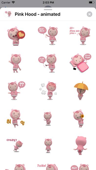 Pink Hood - animated screenshot 2