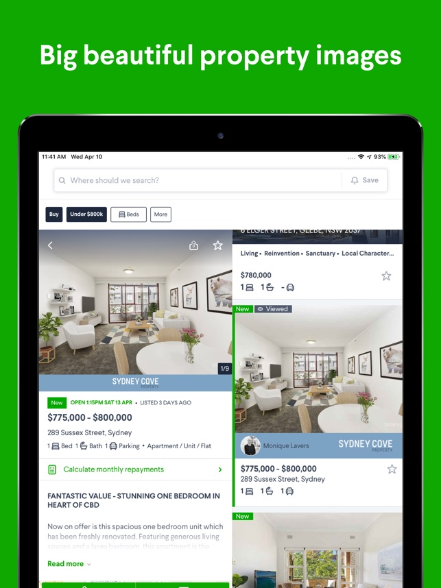 Domain Real Estate & Property on the App Store