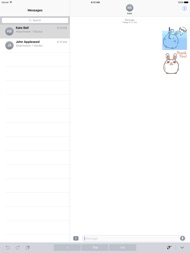Animated Cute Chubby Bunny ipad images