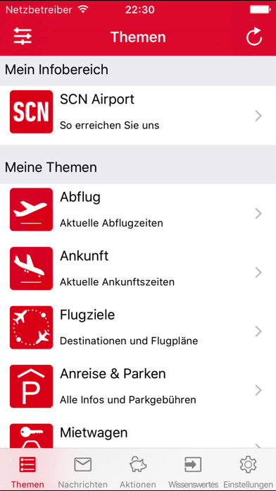 Screenshot #1 pour SCN Airport