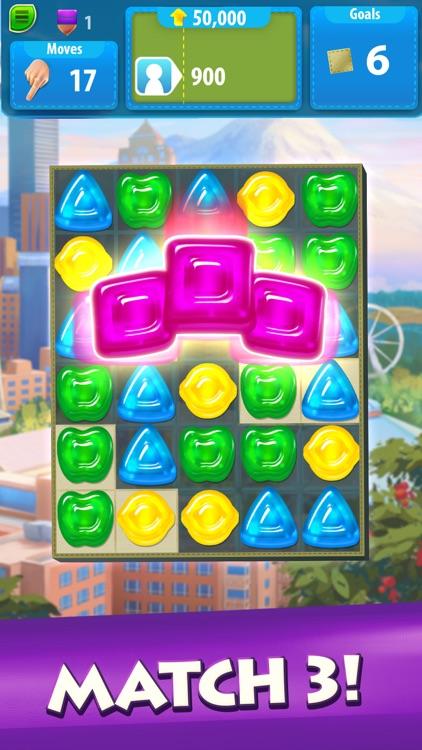 Gummy Drop! – Match & Restore screenshot-0