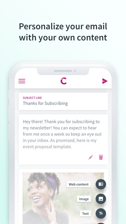 Curate: Simple Email Marketing screenshot-3