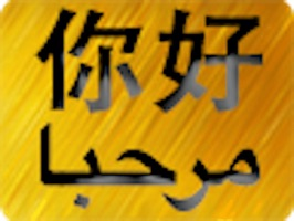 Chinese Arabic Sticker