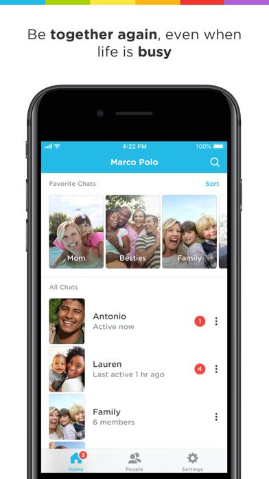 Screenshot #2 pour Marco Polo - Video Chat