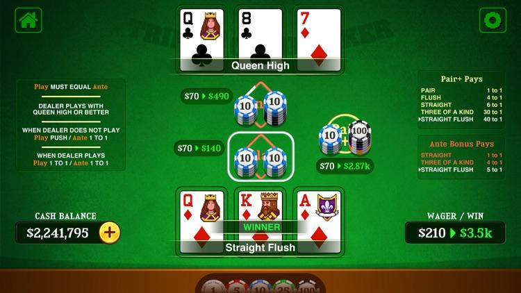 Triple Card Poker Casino