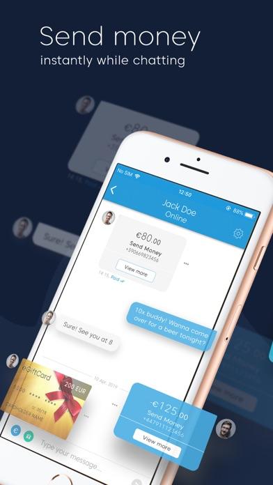 iCard: Send Money to Anyone screenshot three