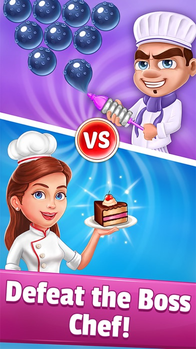 Pastry Pop Blast: Bubble Shoot Screenshot