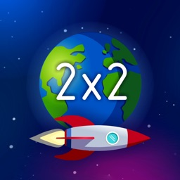 Space Math Multiplication game