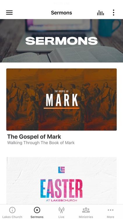 Lakes Church App
