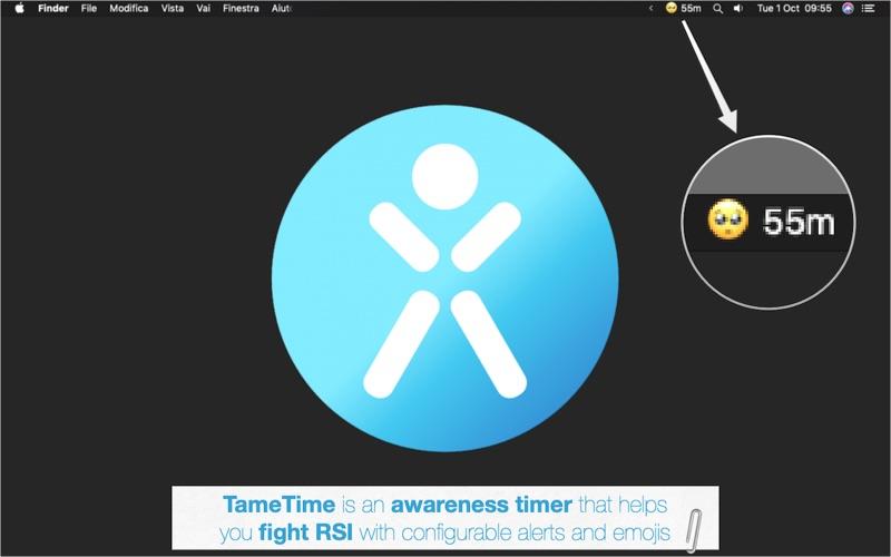 TameTime: Awareness Timer for Mac