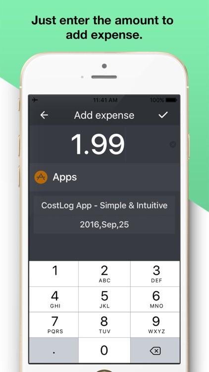 Daily Spending-My Cost Tracker screenshot-3