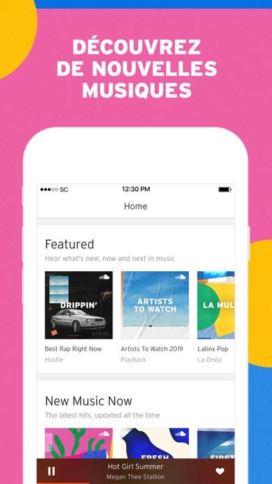 Screenshot #1 pour SoundCloud - Musique & Audio